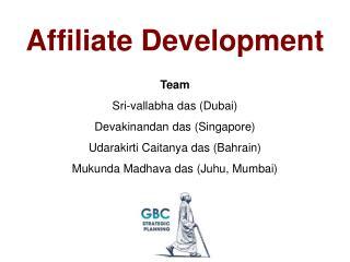 Affiliate Development