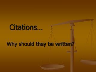 Citations�