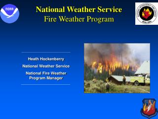 National Weather Service Fire Weather Program