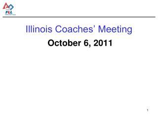 Illinois Coaches' Meeting