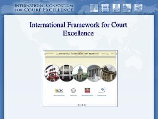 International Framework for Court Excellence