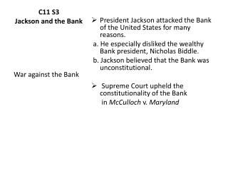 C11 S3 Jackson and the Bank