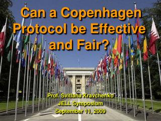 Can a Copenhagen Protocol be Effective and Fair?