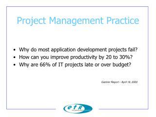 Project Management Practice