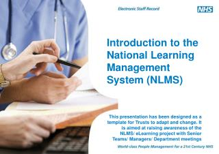 Introduction to the National Learning Management System (NLMS)