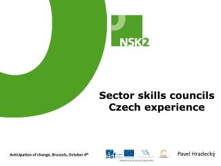 Sector skills councils Czech experience