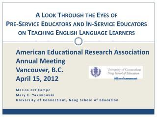 Marisa del Campo Mary E.  Yakimowski University of Connecticut,  Neag  School of Education