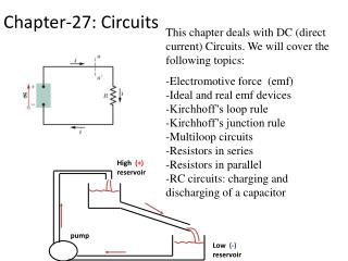 Chapter-27: Circuits
