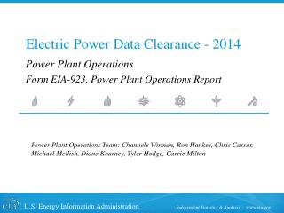 Electric Power Data Clearance - 2014