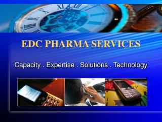 EDC PHARMA SERVICES