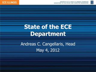 State of the ECE Department