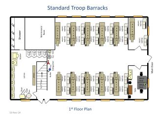 Standard Troop Barracks