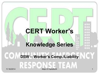 CERT Worker�s