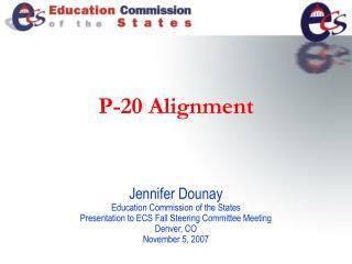 P-20 Alignment