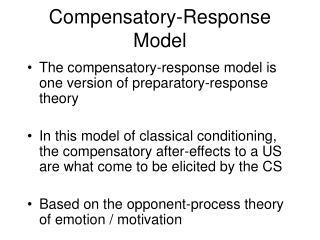 Compensatory-Response Model