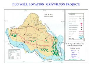 No Of Dug-well with hand tube well and Pipeline System  (Upazilla Based)  Ishwardi  :  7