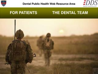 Dental Public Health Web Resource Area