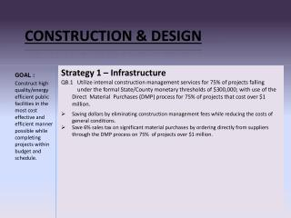 CONSTRUCTION & DESIGN