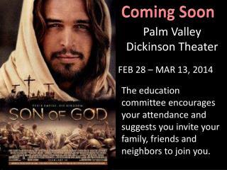 FEB 28 – MAR 13, 2014