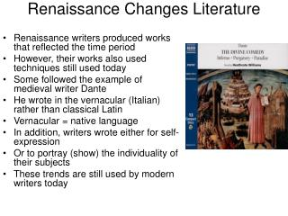 Renaissance Changes Literature