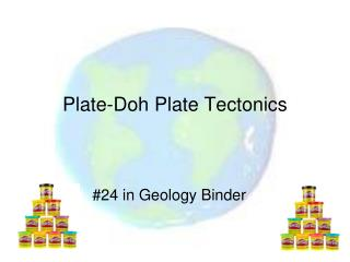 Plate-Doh Plate Tectonics