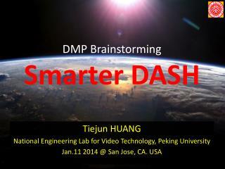DMP Brainstorming Smarter DASH