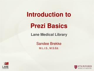 Introduction to Prezi Basics