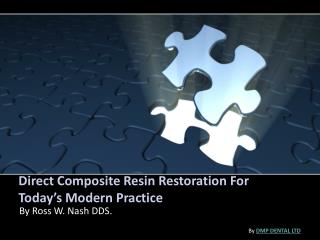 Direct Composite Resin Restoration For Today's Modern Practice