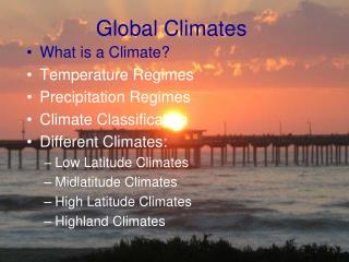 Global Climates