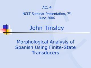 John Tinsley