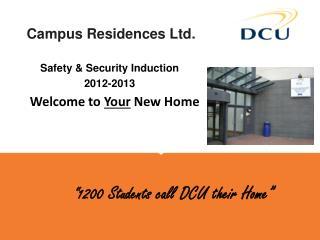 Campus Residences Ltd.
