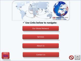 Use Links below to navigate: