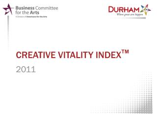Creative vitality  index TM