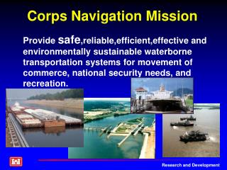 Corps Navigation Mission
