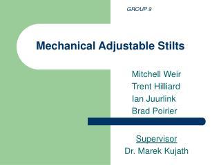 Mechanical Adjustable Stilts