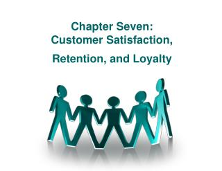 Chapter Seven: Customer Satisfaction,  Retention, and Loyalty
