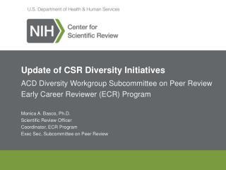Update of CSR Diversity Initiatives