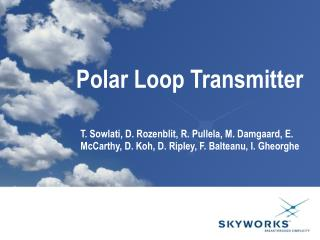 Polar Loop Transmitter