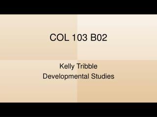 COL 103 B02