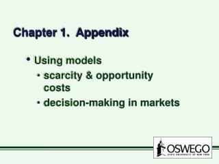 Chapter 1.  Appendix