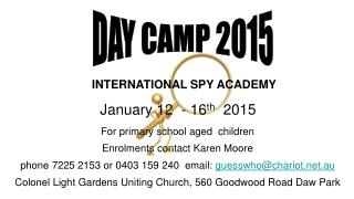 DAY CAMP 2015