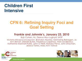 Children First Intensive