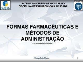 FORMAS FARMAC