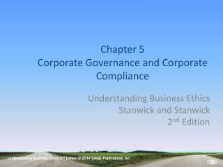Chapter 5 Corporate Governance and Corporate Compliance