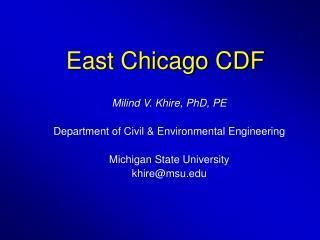 East Chicago CDF