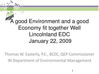 EDC Network Status