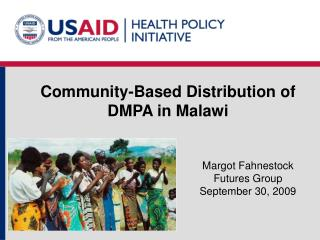 Community-Based Distribution of DMPA in Malawi