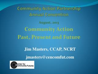 Community Action Partnership  Annual Convention