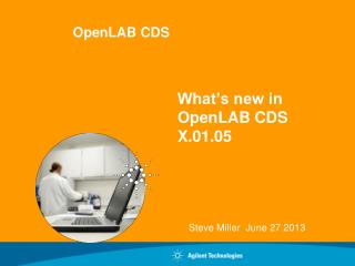 What�s new in OpenLAB CDS  X.01.05