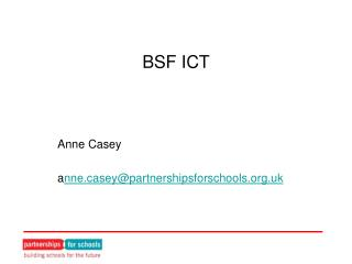 BSF ICT